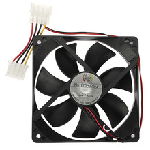 4 Pins CPU Case Fan 12V DC Universal 120x120x25mm CPU Cooler Cooling For PC Case Computer Desktop Heatsink Radiator(China)