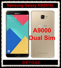 "Samsung Galaxy A9 2016 Duos Original Unlocked 4G LTE Android Dual Sim Mobile Phone A9000 Octa Core RAM 3GB ROM 32GB 6.0"" 13MP(China)"