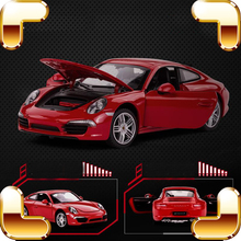 Boys Favour Gift Ca GT 1/24 Racing Model Car Alloy Frame Car Scale Models Metal Machine Toys For Boys & Mini Metallic Collection