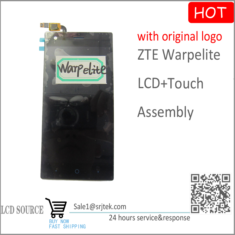 High Quality 5.5 inch for ZTE Warpelite LCD Display With Touch Screen Assembly Black Replacement Parts Free Shipping<br><br>Aliexpress