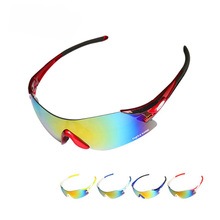 UV400 Polarized High Definition Colorful Cycling Glasses Outdoor UV-Free Borderless Sunglasses