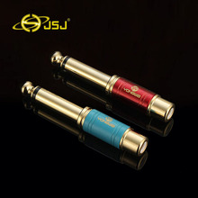 JSJ 6.5 big two core to RCA female 6.35 turn lotus head RCA mother audio 1pcs free shipping(China)