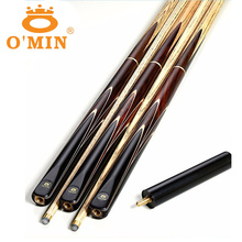 High Quality Omin Handmade 3/4 Snooker Cues Stick Billiard 9.5mm/10mm/11.5mm Tip China