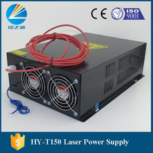 130watt co2 Laser Equipment  Lamp Generator T150 Black Laser Power Supply