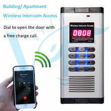 Controls max 200 apartments in one building home electronics gsm gate opener eletronics door lock access control system