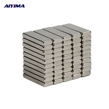 50pcs N35 15x5x2 Stronger Neodymium Magnets 15*5*2mm Cuboid Teaching Magnetic Tape Rare Earth Magnets Counter 15mm*5mm*2mm
