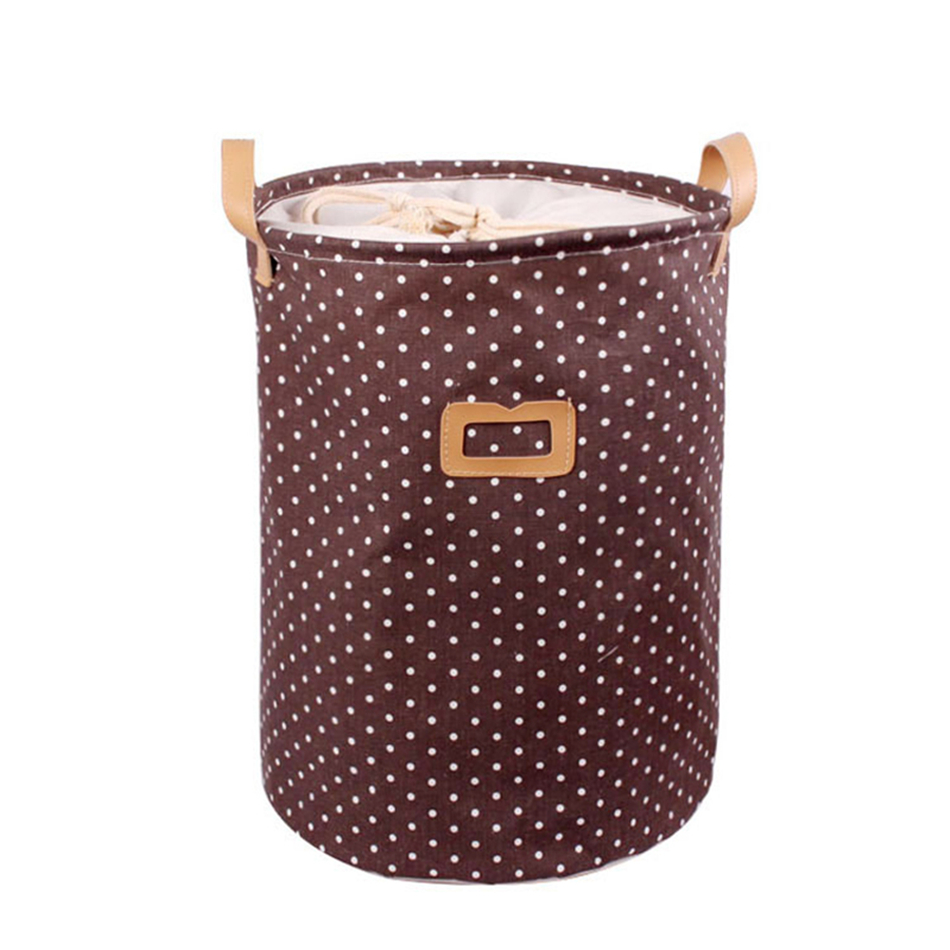 08 MICCK Storage Basket Dirty Clothes Sundries Waterproof Laundry Basket Organizers Washing Clothes Toy Linen Folding Storage Box