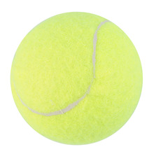 Hot Sale Yellow Tennis Balls Sports Tournament Outdoor Fun Cricket Beach Dog High Quality free shipping(China)