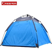 2017 Hot Sale New Automatic Tent Outdoor Travel Camping Tarp Waterproof Double Layers Camping Sun Shelter Lonas De Acampamento