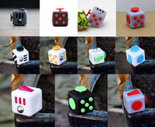 Sale! Desk Toy Fidget Cube Relieves Anxiety Stress Juguete Adults Squeeze Fun Fidget Cube Desk Spin Toys Special needs autism