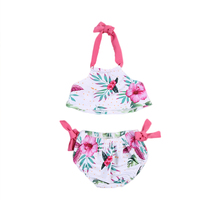 Kids Baby Girls Bikini Swimsuit Swimwear Children Bathing Suit Swimming Costume Beachwear 1-6T