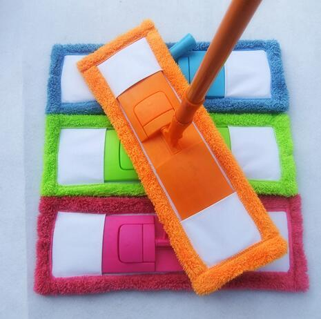 New Arrival Best Price Cleaning Pad Dust Mop Household Microfiber Coral Mop Head Replacement Fit For Cleaning(China)
