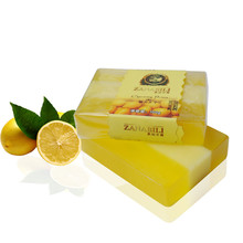 ZANABILI Brand Lemon Soap Natural Handmade Bath Soap For Man Shaving Soap 1pc(China)