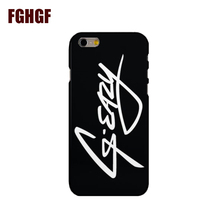 Original G Eazy Phone Hard Case Cover For iphone 4 4s 5s 5c SE 6 6s 6plus 7 7plus 8 8PLUS X(China)