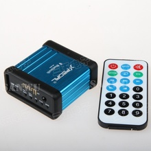 new Car pre-modified wireless Bluetooth audio usb tf Power supply isolation receiver in case with remote control(China)