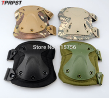 TPRPST 4 Colors Tactical Paintball Protection Knee Pads & Elbow Pads Set KN25113122