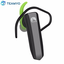 Teamyo Mini Bluetooth Headphones Wireless Stereo Car Bluetooth Hands-free Headset with Mic Lightweight Earphone for Mobile Phone(China)