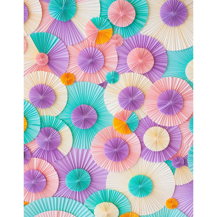 Customize washable wrinkle resistant print paper flowers pattern photo studio backgrounds for photography backdrops S-2284-A<br>