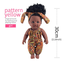 Buy YARD Kids Toys Soft Silicone Reborn Baby Realistic Vinyl Doll Black Reborn Babies Dolls Clothes Girls