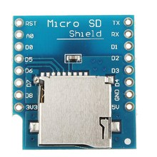 High Quality Micro SD Card Shield For WeMos D1 Mini TF WiFi ESP8266 Compatible SD Wireless Module For Arduino(China)