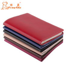 Genuine Leather oil waxHot Sale Passport Covers Solid Credit Id Card Folders Handmade Passports Holder Case Travel Accessories(China)