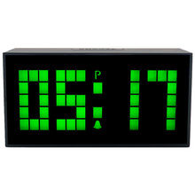 CH KOSDA Digital LED Wall Alarm Clock Horloge Wall Watch Timer Clock Snooze Calendar Date Alarms Desktop Room Table Bedside New