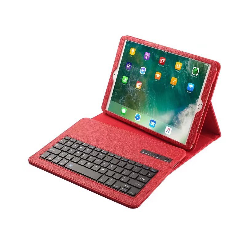 case For ipad pro 10.5 stand PU back cover Removable Wireless Bluetooth Keyboard Case for ipad pro 10.5 inch<br>