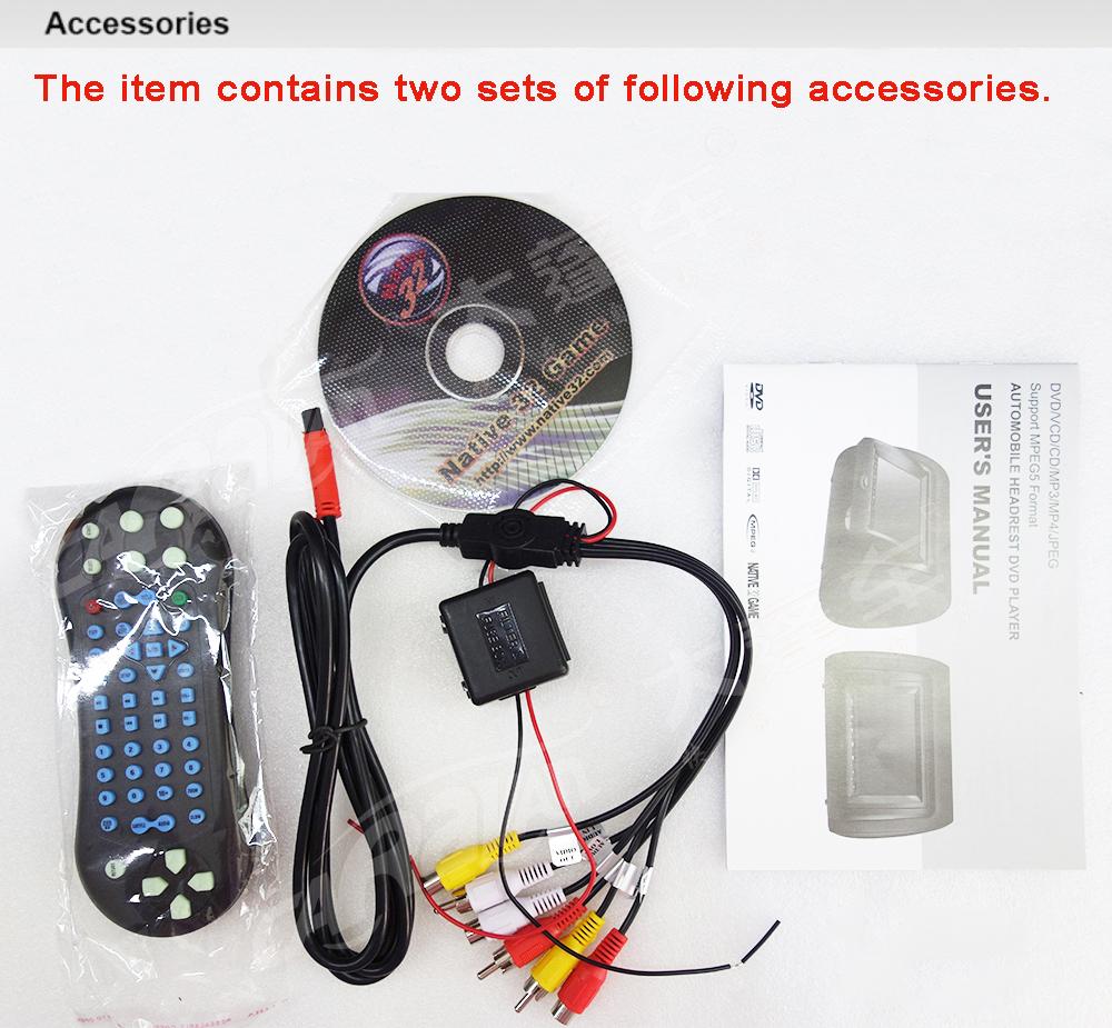 DV9823 accessories