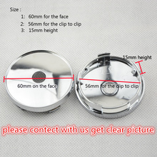 Hot Products 4pcs/lot 60MM Auto wheel Center hub cap EMBLEM Cover free shipping for KIA Car Logo Badges Sticker(China)
