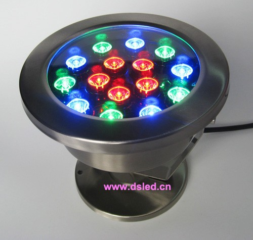 IP68,Stainless steel 15W RGB LED projector light, RGB LED wall washer,24V DC,DS-10-61-15W,good quality,2-Year warranty<br>