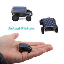 Toy Car Auto Educational Children Kids Funny Hot Smallest Mini Solar Power Robot