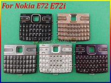 5Color 100% New Top Quality Keyboard Cover Case For Nokia E72 E72i Free Shipping Purple/White/Black/Gray/Gold