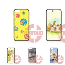 For Apple iPhone 4 4S 5 5C SE 6 6S 7 7S Plus 4.7 5.5 Soft TPU Silicon Case Accessories Winnie The Pooh Vintage Quotes