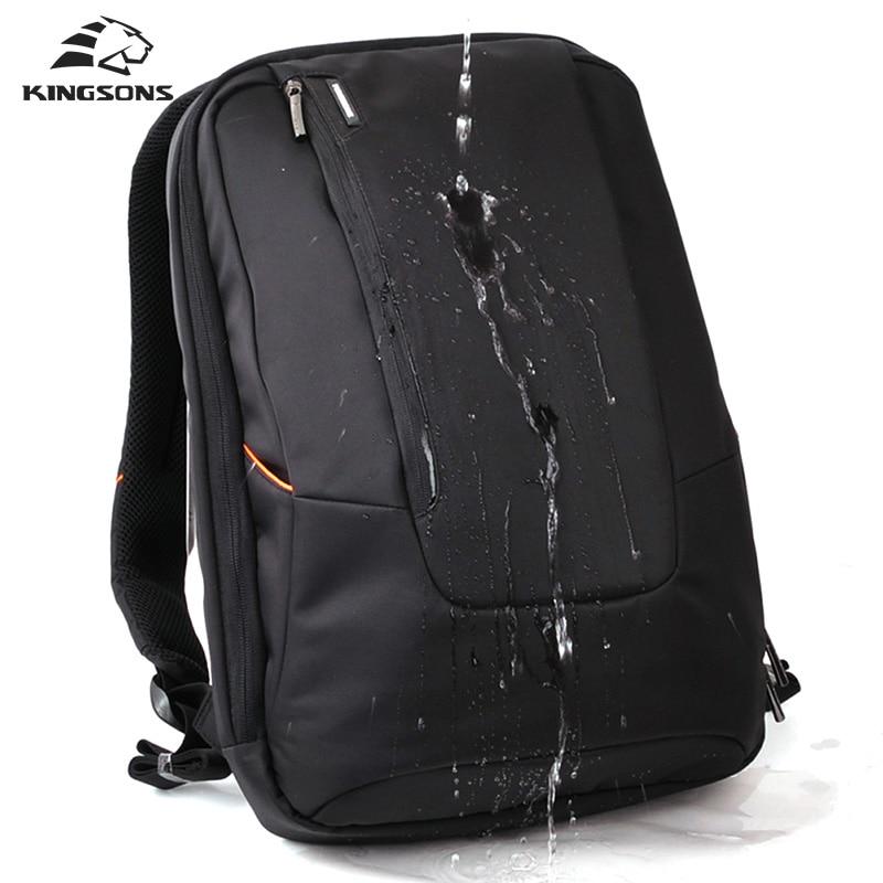 Kingsons Brand Waterproof Men Women Laptop Backpack 15.6 inch Notebook Computer Bag Korean Style School Backpacks KS3019W <br>