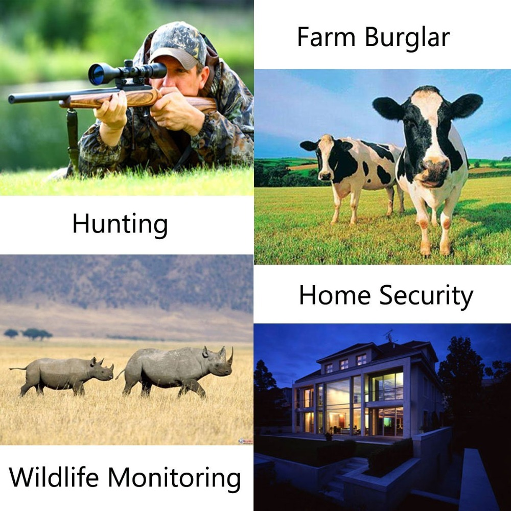 Wildlife Trail Photo Trap Hunting Camera 12MP 1080P 940NM Waterproof Video Recorder Cameras for Security Farm Fast (1)