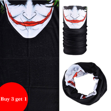 ROCKBROS Buy 3 get 1 Bandana Cycling Bicycle Riding Face Mask Magic Scarfs Bike Sport Headband Seamless Breathable Anti-sweat