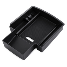 Automobiles suit for Audi A4 A5 B8 S5 2009-2015 central armrest storage holder container tray box car organizer accessories