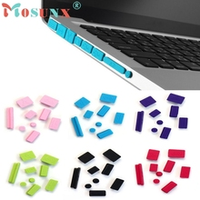 2017 Cover Set 9pcs Silicone Beautiful Gift Anti Dust Plug Ports For Laptop Macbook Pro 13 15 Wholesale Price_KXL0329