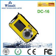 24mp dual screen full hd 1080p digital camera 8x digital zoom DC-16 cheap photo and video camera camcorder