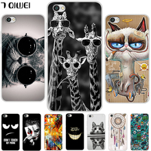 For Xiaomi Redmi Note 5A Case No Fingerprinting Cartoon TPU Soft Silicone Back Cover Redmi Note 5A 16G Phone Cases Girls Animal(China)