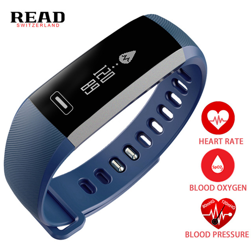 READ Smart Watch Men Watches Women Smartwatch Wristband Heart Rate Blood Pressure Oxygen Oximeter Sport Fitness For iOS Android<br>