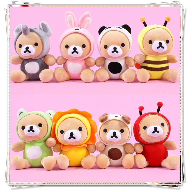 Mini teddy bear plush toy ty dolls stuffed animals soft toys for bouquets spongebob cheap toys mamas papas birthday gifts <br>