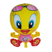 XXPWJ Free shipping Duck balloon animals inflatable air balloons for party supplies kids classic toy G-018(China)