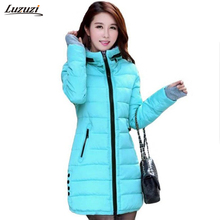 1PC Winter Jacket Women Cotton Padded Parkas For Women Winter Coat Jaqueta Feminina Casacos De Inverno Feminino Z007