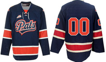 Regina Pats # Custom your name and number Stitched Hockey Jersey