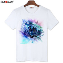 BGtomato Original brand Men's New T-shirts Hot sale fashion summer clothes Cool summer Tops for men Creative design summer Tees