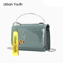 Urban Youth Hot Small Flap Shoulder Crossbody Bags Designer Brand Ladies Clutch Hand Bags High Quality PU Leather Women Bag Sacs