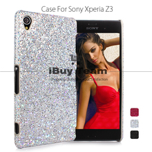 For Sony Xperia Z3 D6653 D6603 Case Bling Shine Back Cover for Sony Xperia Z3 Luxury Ultra Slim Cell Phone Protective Shell(China)