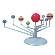 1Pcs New Solar System Celestial Bodies Planets Planetarium Model Kit Astronomy Science Educational Toys  DIY Kids Gift