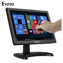 Eyoyo MA101 10 inch IPS Touch Screen LCD HD CCTV Video Monitor HDMI VGA AV BNC Security Monitor for PC POS